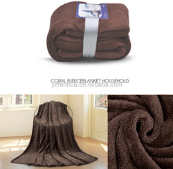 China Factory Wholesale Soft Coral Flannel Plush Fire Fleece Blanket With Best Price