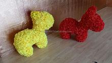Artificial Flower Animal Sculpt for Children's day & Festival Decoration or Garden Decor