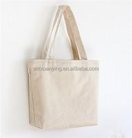 Custom printed blank organic cotton tote bags