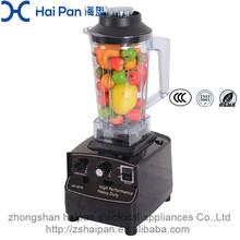 Baixo nível de ruído espremedor de frutas portátil de alta velocidade do Motor molhado e seco comida 1000 W 2L suporte de blender