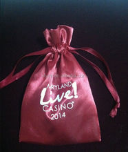 wholesale satin bags personalized