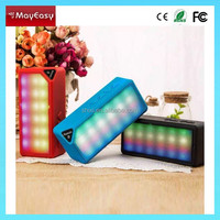 2015 Best bluetooth speaker with tf and fm function mini bluetooth speaker with LED flashlight