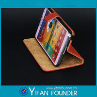 Unique Design Flip Leather Cover For Samsung Galaxy S4 Case