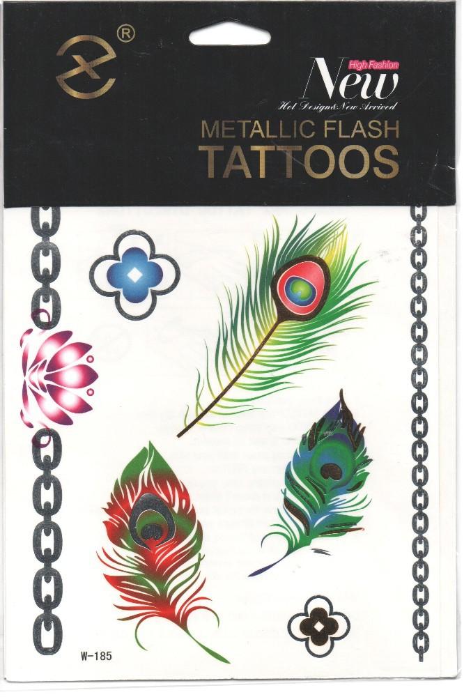Kids temporary tattoo sticker glitter tattoo sticker for Temporary tattoos for kids