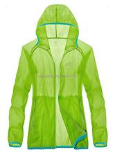 Women windbreaker uv protect skin jacket