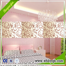 Chinese good quality 3d wall papers home decor