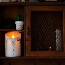 European modernism remote control luminara flameless candle