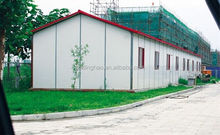 China prefabricated house modern design with steel structure in low cost for sale