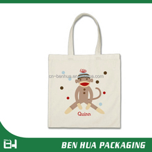 Design Canvas Promotional Cotton Bag For Shopping