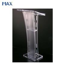 glass pulpit church acrylic podium