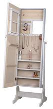 home furniture full length E1 MDF Standing Mirror Jewelry Armoire
