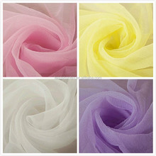 colorful organza fabric for decor