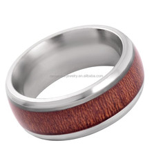 SRR0002 Fashionable Jewelry Mens Carbon Fiber Wood Ring