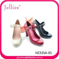 Elegant PVC Jelly Sandals Dress Ladies Wedge Shoes