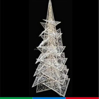 White w hot selling artifical pe christmas tree for decoration