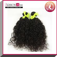 Alibaba Cheap Wholesale 100% Unprocessed Brazilian Virgin Human Curly Hair Weave