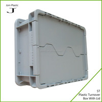 Custom hard disposable plastic sealable container with lid