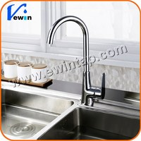 2015 Ewin High Quality Durable Single Handle Brass Body Kitchen Sink Mixer Tap