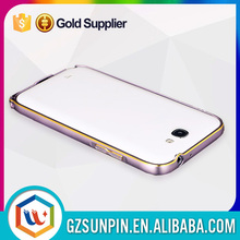 new ultra thin aluminum metal gold case for samsung galaxy note 2 n7100