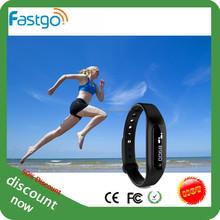 IP68 promotion gifts activity wrist band, idea product 2015 wrist band pedometer, guangzhou fitness wrist band.