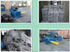 Horizontal baler waste scrap press baling machine