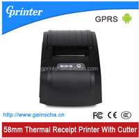 58mm GPRS Thermal Receipt printer with cutter