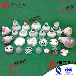 2015 Alibaba China Hot Sell Led Bulb Lamp Accessories ,Plastic Led Lamp Parts Wholesale
