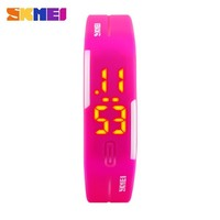 Alibaba Express Silicone Wristband Digital Led Watch