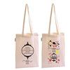 Wholesale hot sale eco cotton shopping bag, cheap cotton tote shopping bag, cotton tote bag with long handle