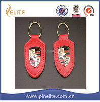 hot selling custom leather keychain,metal key chain and gift items for festival