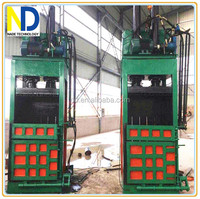 vertical Baler machine for scrap tyre, waste tire, and scrap tire