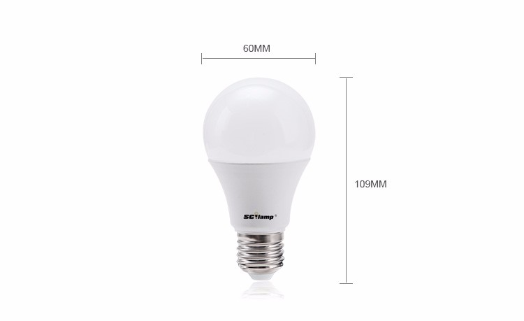 Cool White 270 Degree 7w Led Light Bulbs For Home Use