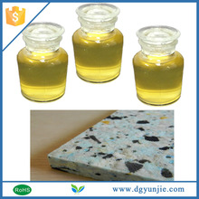 PU pressure activated liquid adhesives for packing foam pieces
