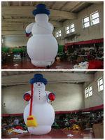 large christmas decoration inflatable snowman