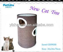 Multifunction corrugated super box cat furniture