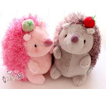Custom factory direct fashion popular cute plush hedgehog toy animal toy