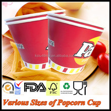 24/32/46/64/70/85oz China Wholesale Disposable Fried Chicken packaging Paper Bucket