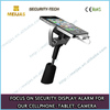 Yes charger alarm Security anti-theft phone metal clamp holder