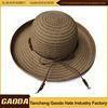 Colorful high quality beach fashion lady straw hat