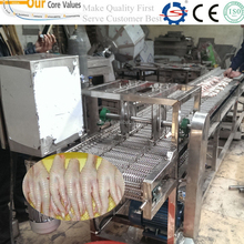 factory sale top quality chicken claw cutting machine008615736766223
