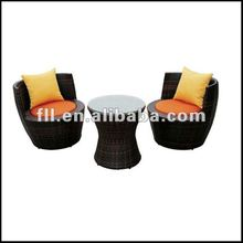 2012 Hotel Rattan outdoor furniture for 5 star