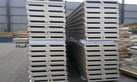 Cold room insulation polyurethane pu wall m2 price sandwich panel