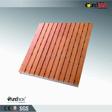 Wood Decorative perforated sound absorption acosutic panel board
