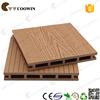 Coowin hot sale WPC waterproof decking floor, hollow groove outdoor decking WPC