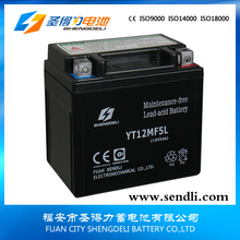 12v 5ah rechargeable mf sead-Acid Batteries for Dirt Bike 125CC motorcycle