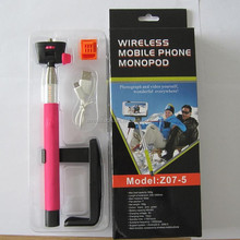Let you take photos with ease wireless bluetooth selfie stick z07-5