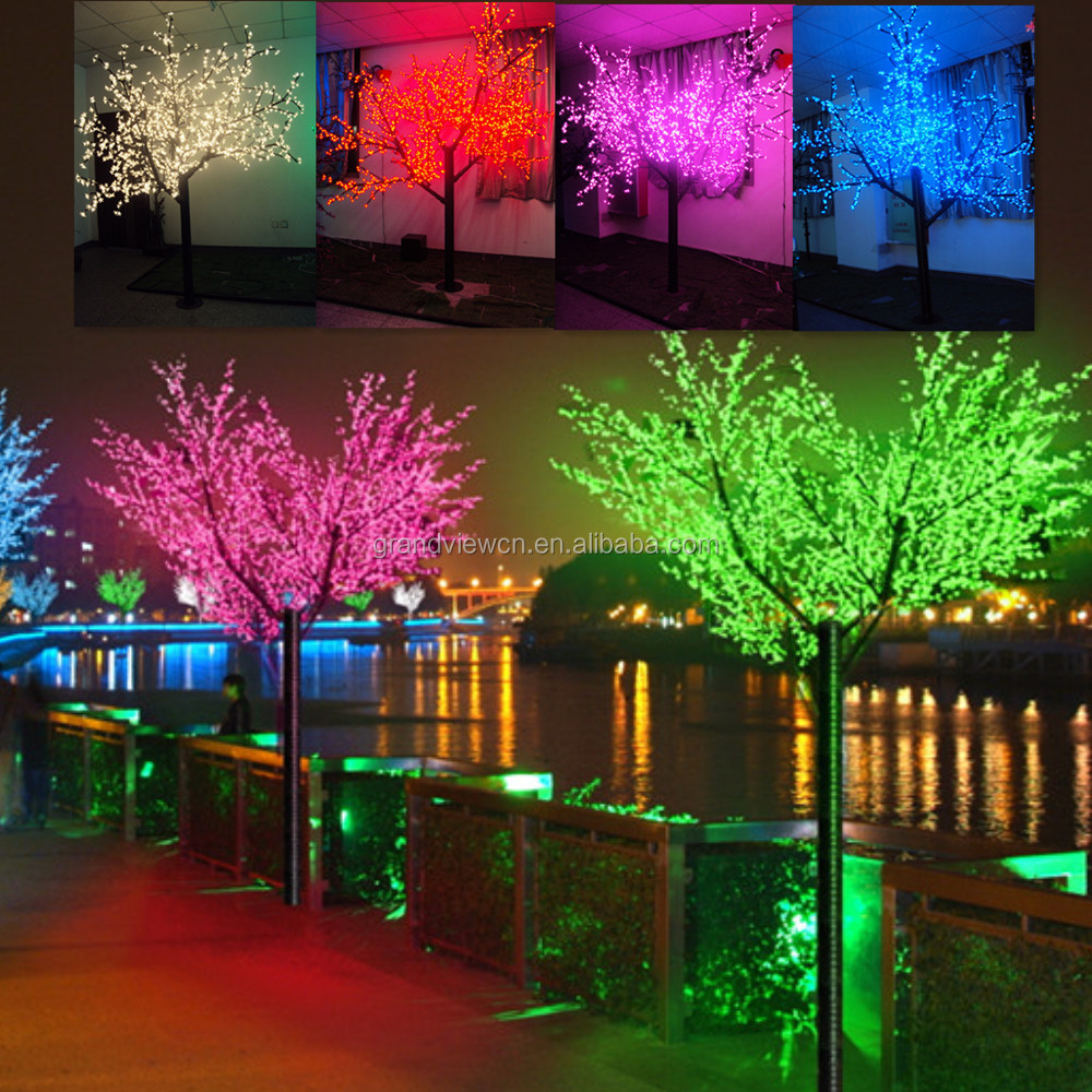Color Changing Led Japanese Cherry Blossom Tree Light - Buy Color ...