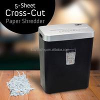 office strip cut croos cut a4 paper shredder