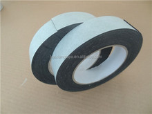 tested 3mm thickness black eva double-sided glue foam tape