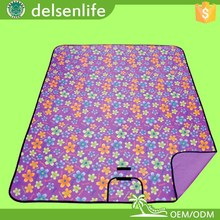 Waterproof Picnic Rug Mat Folding Blanket Camping Outdoor Beach Festival Backing